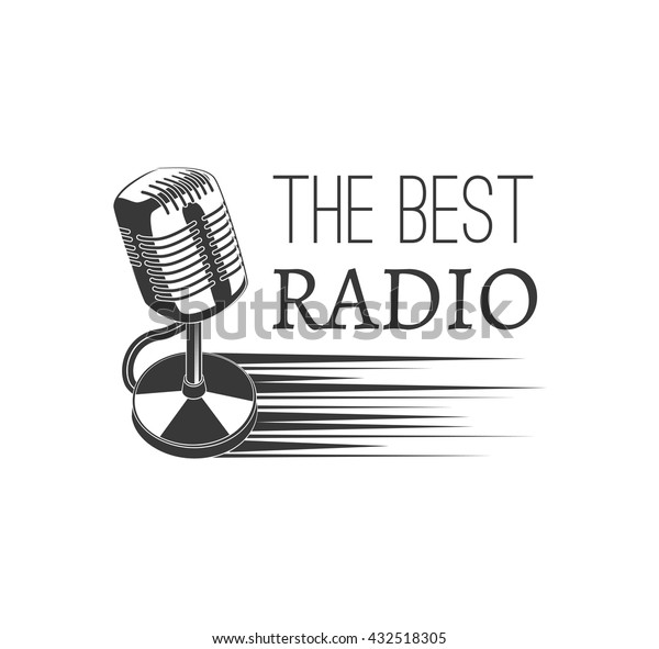 Music Style Logo Templates Best Radio Stock Vector (Royalty Free