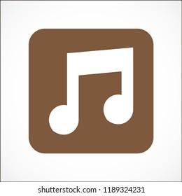 music vector icon 10 eps