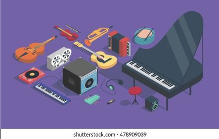 Harmonica Stock Vectors, Images & Vector Art | Shutterstock