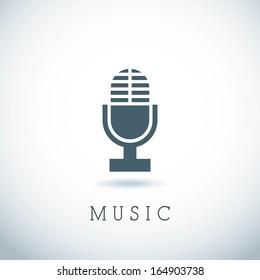musical design over gray background vector illustration