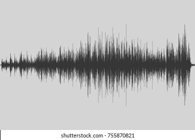 Musical equalizer. Sound wave. Radio frequence. Vector illustration.
