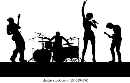 musical-group-rock-band-playing-260nw-15