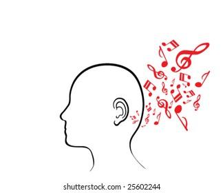 Musical Human (Vector)