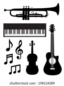 Musical Instrument Value Pack - Vector