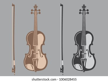 Musical instrument — a violin