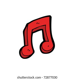 musical note cartoon