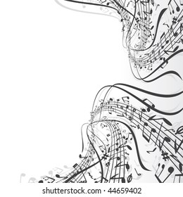 Musical notes composition - SIMILAR MUSIC BACKGROUNDS SEE AT MY GALLERY