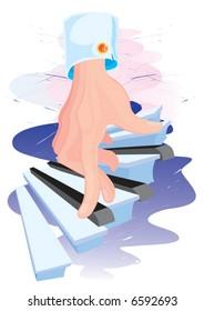Musical step