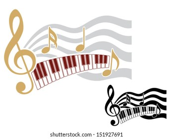 Musical Wall Decal 1