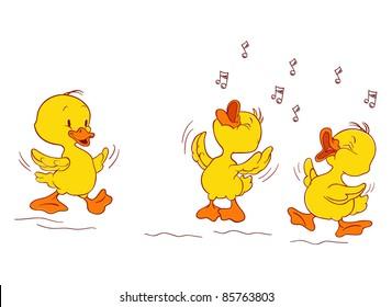 musician ducks