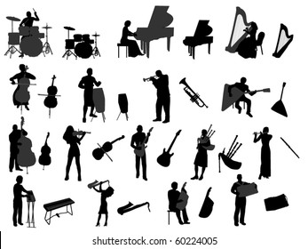 musician and musical instrument