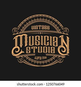 Musician Vintage logo