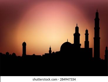 Muslim city