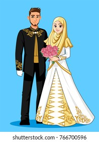 Muslim Wedding Couple 7