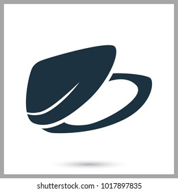 Mussel simple icon