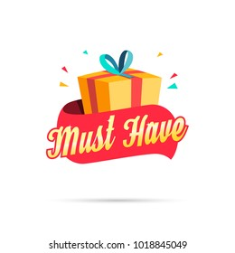 Must Have Shopping Gift Box