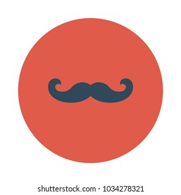 mustache face man