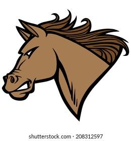 Mustang Mascot
