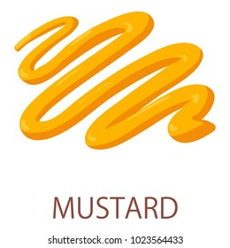 Mustard icon. Isometric illustration of mustard vector icon for web