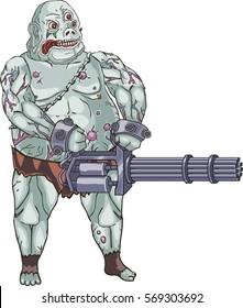 Mutant character art