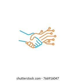 Mutual Tehcnology logo design
