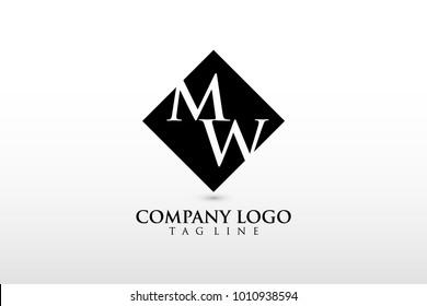 mv logo vector black color