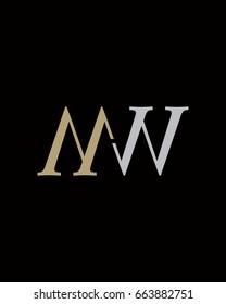 MW Initials logo