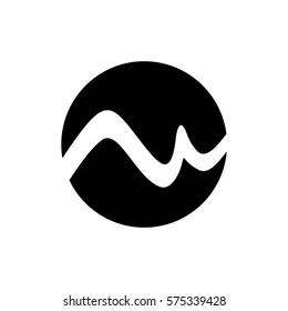 mw letter vector logo