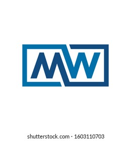 MW Logo can be used for company, sign, icon, and others.