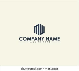 MW logo design