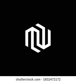 MW logo. MW Letter logo. MW vector logo  Illustrated logo  minimal design.