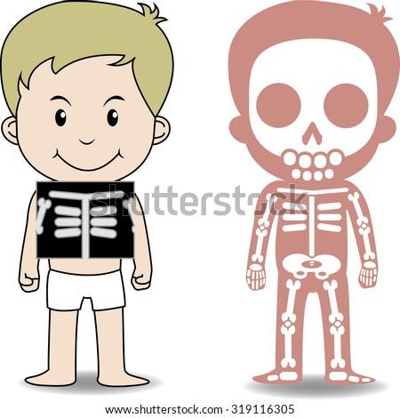 My Body Educational Anatomy Body Organ Stock Vector Royalty Free