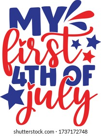 My first 4th of July Quote