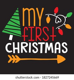 my first Christmas t-shirt design, you can download a vector file.