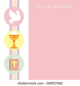 graphic about First Holy Communion Cards Printable Free named Holy Communion Vector Inventory Vectors, Shots Vector Artwork