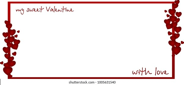 My sweet Valentine Love Card