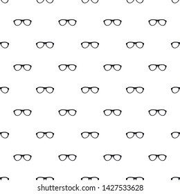 Myopic glasses pattern seamless vector repeat geometric for any web design