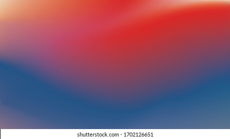 Mysterious gradient wallpaper. Abstract vector background material.