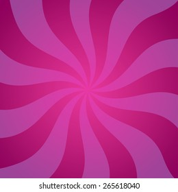 Mystery Vector background in purple color. Colorful Illustration with the mood of magic and mystery