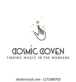 mystic astral logo vector