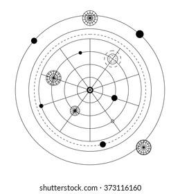 Astrological Symbols Images, Stock Photos & Vectors