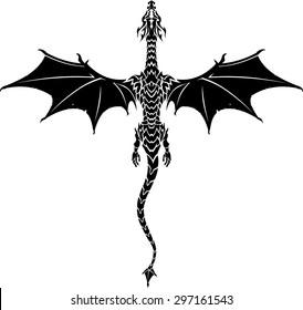 Mythical Dragon Tattoo