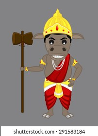 Mythological Hindu Animal God