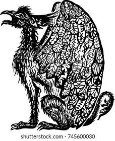Mythological winged creature