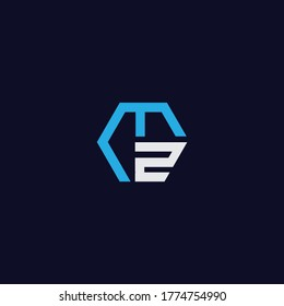 MZ Logo and Icon Vector