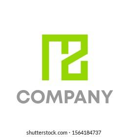 mz logo vector design template sign