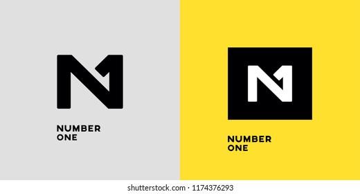 N 1 vector logo