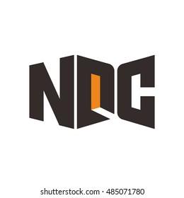 N D C Letter, Gate Building Logo Design