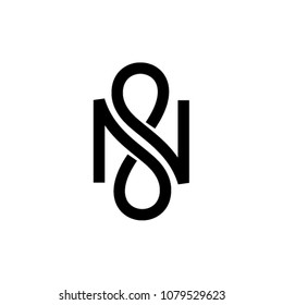 N infinity vector letter