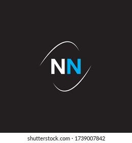 N N letter logo emblem design
